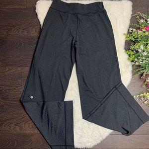 LULULEMON Grey Wide Leg Pant With Pockets